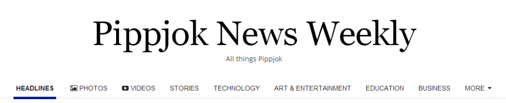 Pippjok News Weekly Header